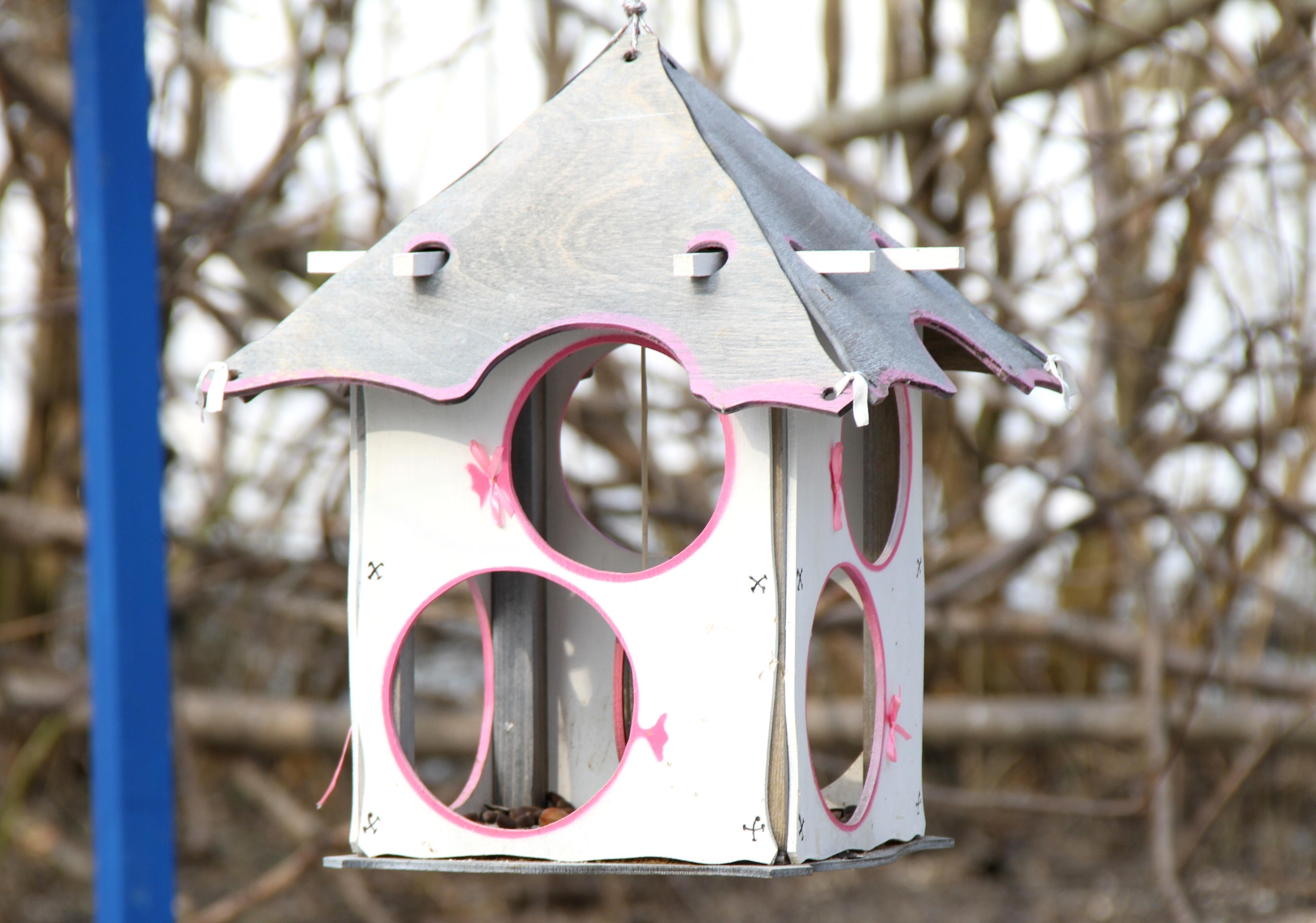 Креативная кормушка для птиц своими руками фото 97